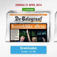 telegraaf-krant-zondag